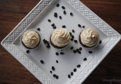 Coffee Buttercream Chocolate Cupcakes