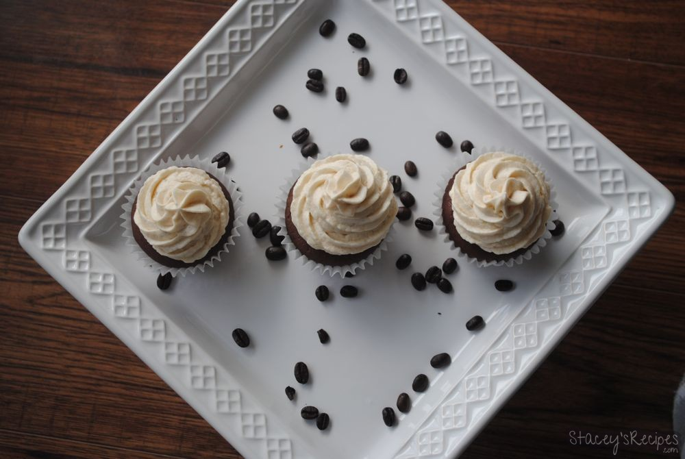 Coffe Buttercream Chocolate Cupcakes