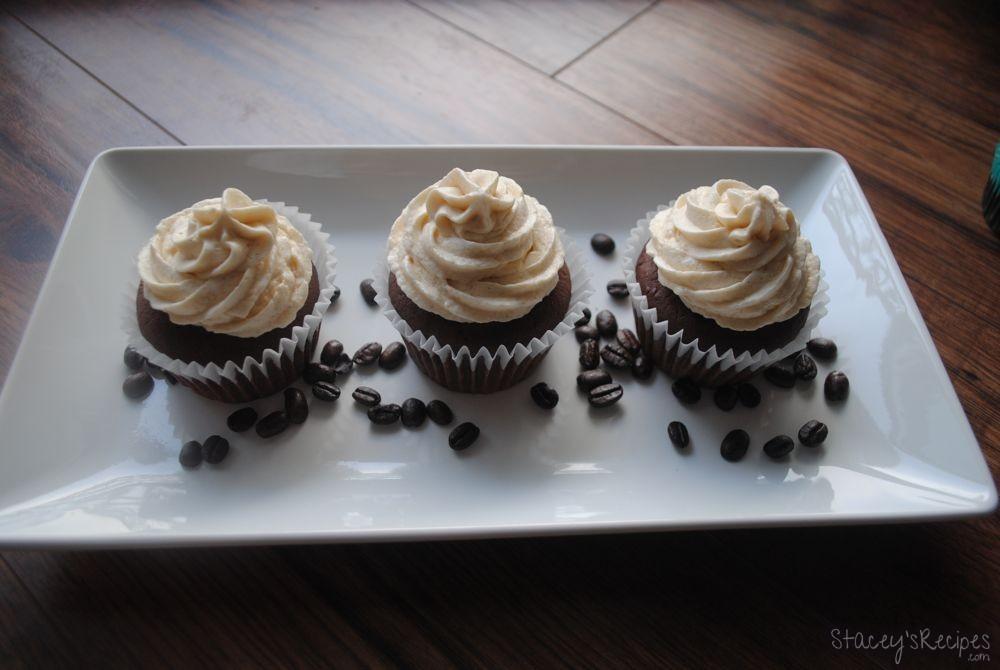 Coffe Buttercream Chocolate Cupcakes
