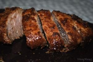 Maple Syrup Pork Tenderloin