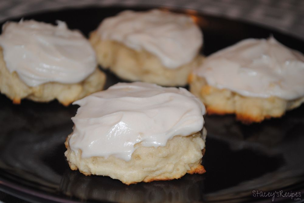 cream cheese icing for cookies