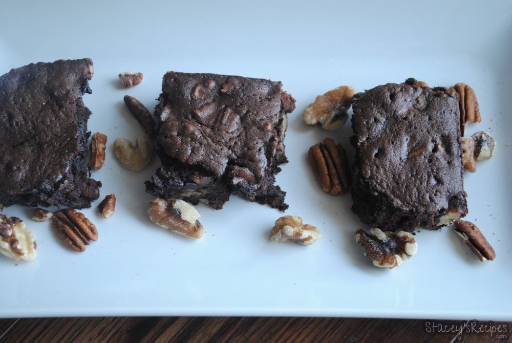The Ultimate Chocolate Nut Brownie