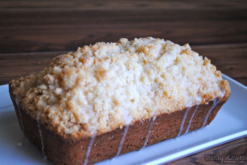 Lemon Load with a Sweet Crumb Topping