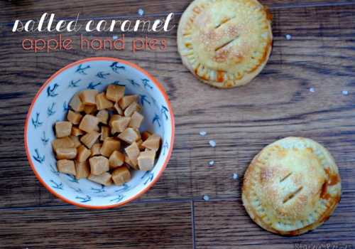 Salted Caramel Apple Hand Pies (Gluten-Free Option)