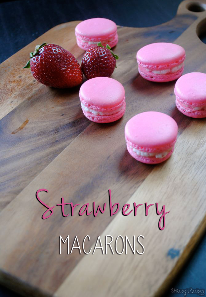 Strawberry Macarons Stacey S Recipes