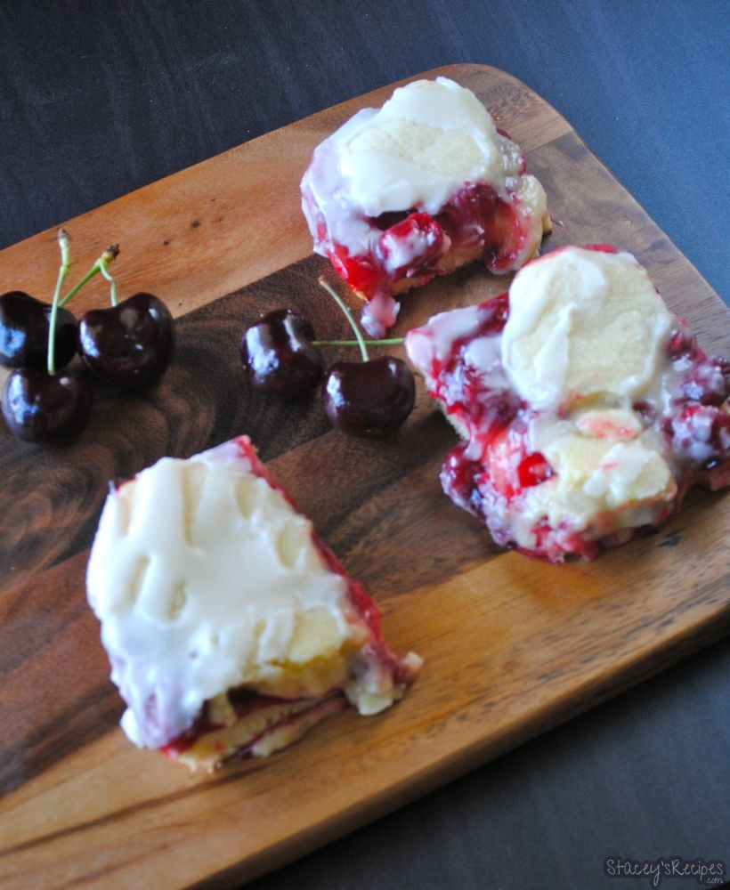 Cherry Pie Bars - Stacey's Recipes