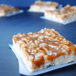 Salted Caramel Rice Krispies