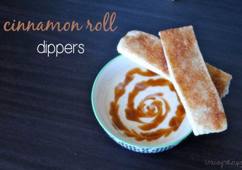 Cinnamon Roll Dippers