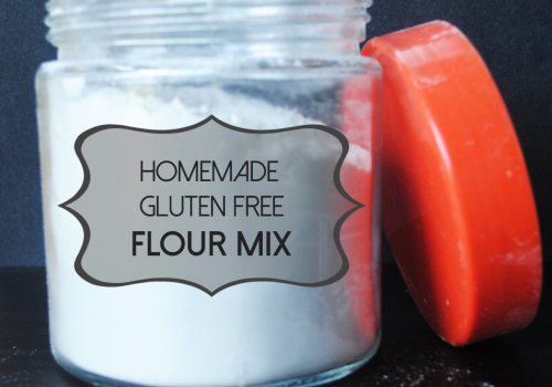 Homemade Gluten-Free Flour Mix