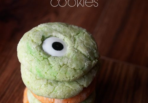 Monster Crinkle Cookies