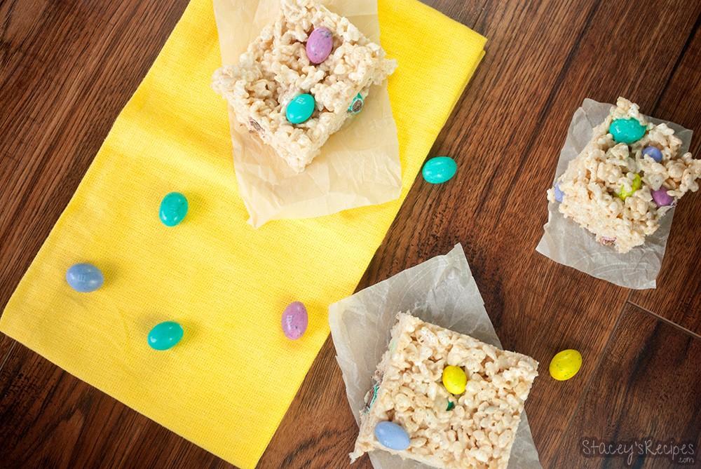 Easter Rice Krispie Squares