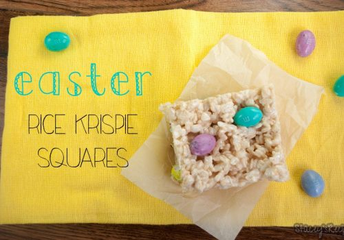Easter Rice Krispie Squares
