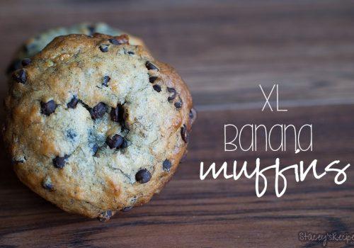 XL Banana Muffins