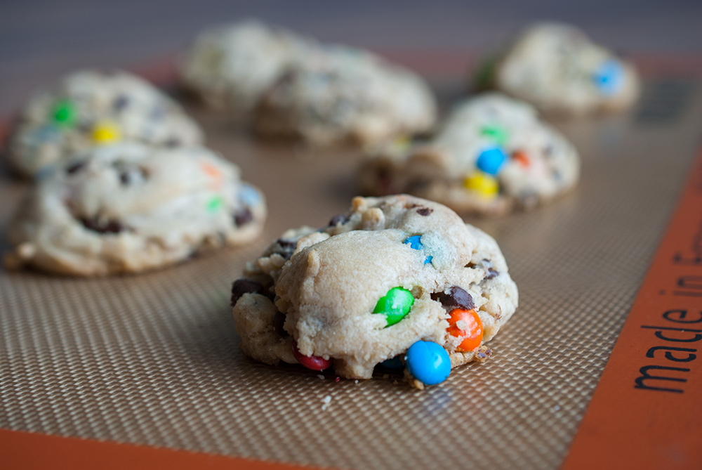 Secret Ingredient M&M Cookies
