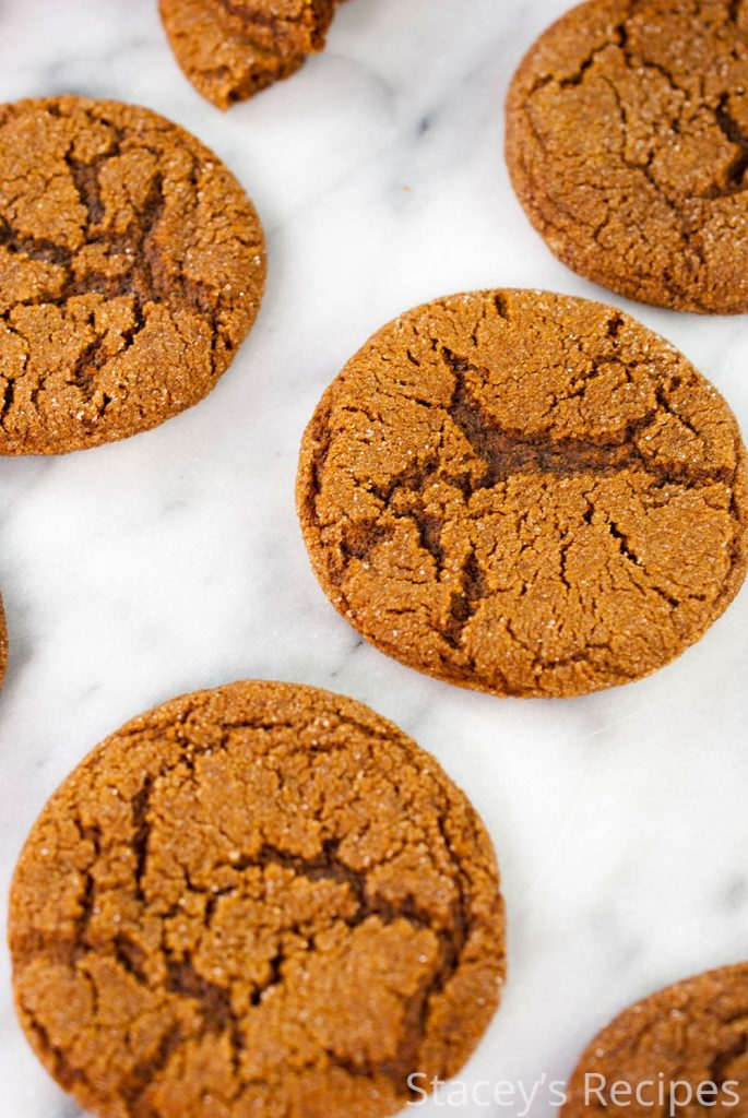 A family recipe with plenty of ginger and molasses, a holiday cookie that will melt in your mouth! | www.staceysrecipes.com